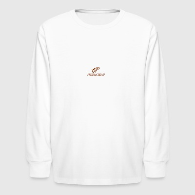 Ginger Power remix logo - Kids' Long Sleeve T-Shirt
