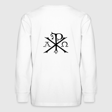 CHI-RHO SYMBOL - Kids' Long Sleeve T-Shirt