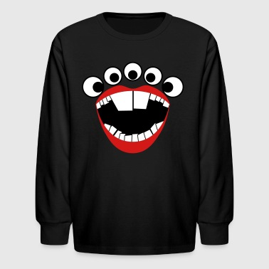 Loudenproud Monster - Kids' Long Sleeve T-Shirt