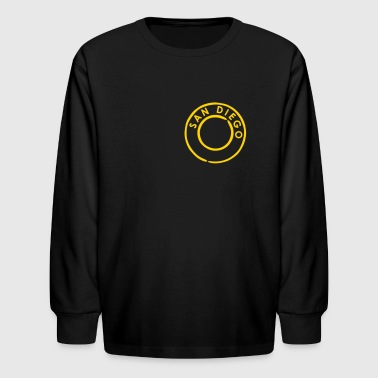 San Diego - Kids' Long Sleeve T-Shirt