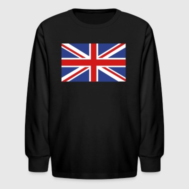 British Flag - Kids' Long Sleeve T-Shirt