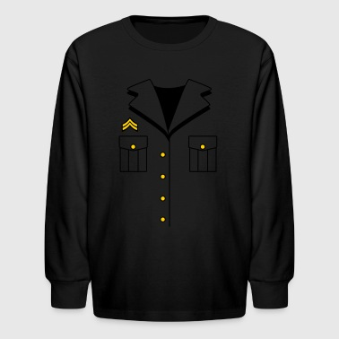 Military Dress - Kids' Long Sleeve T-Shirt