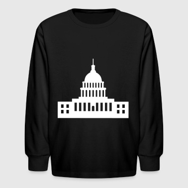 United States Capitol, Capitol - Kids' Long Sleeve T-Shirt