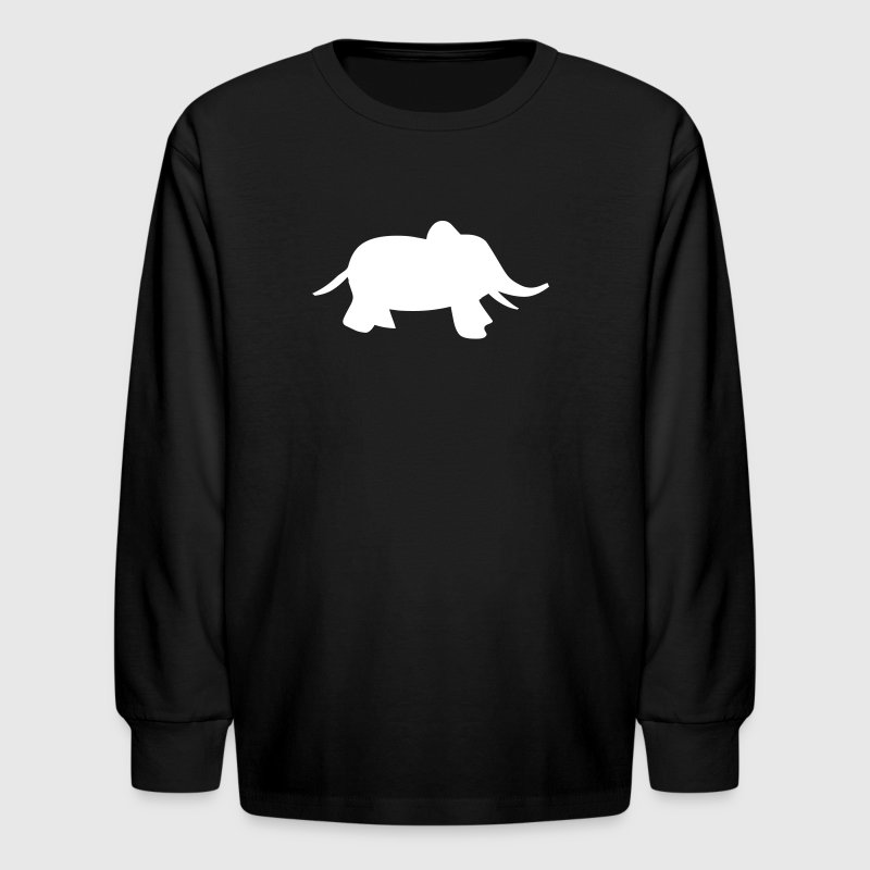 baby elephant - Kids' Long Sleeve T-Shirt
