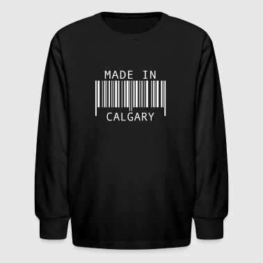 Made in Calgary - Kids' Long Sleeve T-Shirt