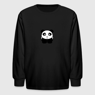 panda manga - Kids' Long Sleeve T-Shirt