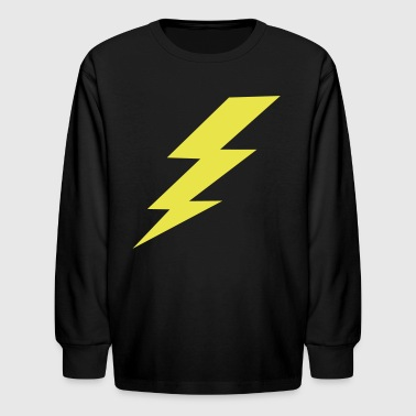Lightning Bolt - Kids' Long Sleeve T-Shirt