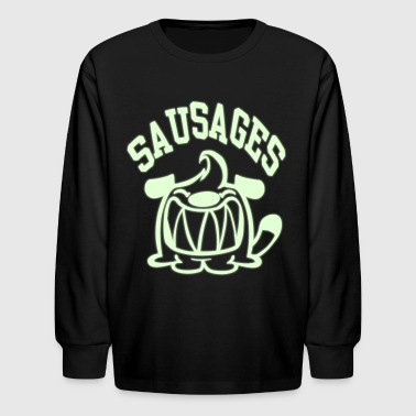 Sausages! - Kids' Long Sleeve T-Shirt