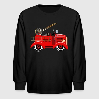 Fire Engine - Kids' Long Sleeve T-Shirt