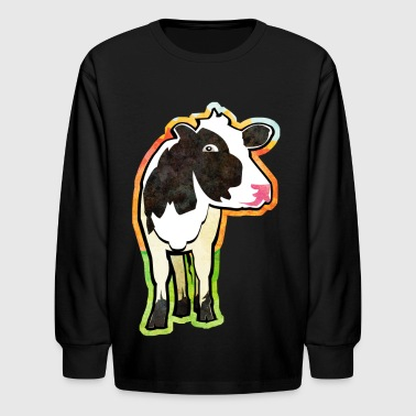 Dairy Cow Dairy Cow - Kids' Long Sleeve T-Shirt