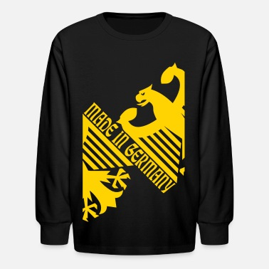 Made In Germany Made in Germany, German Eagle - Kids' Long Sleeve T-Shirt