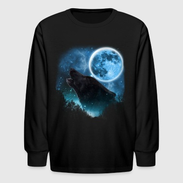 Black Wolfs Skylight 3pxc - Kids' Long Sleeve T-Shirt
