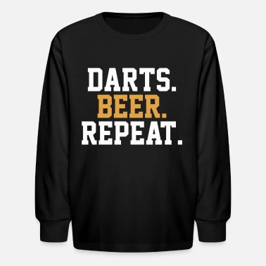 Bar Pub Dart Beer Pub Bar - Kids' Longsleeve Shirt