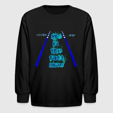 Life in the fast lane - Kids' Long Sleeve T-Shirt