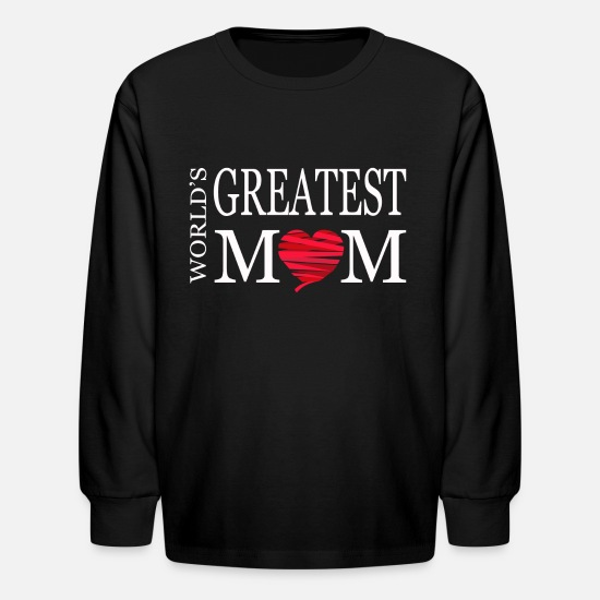 Mother Long-Sleeve Shirts - Mother's Gift Day Day Mami Gift Mother Mother's - Kids' Longsleeve Shirt black