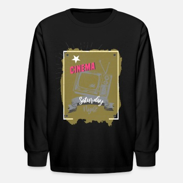 Cinema Cinema - Kids' Longsleeve Shirt