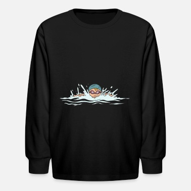 Breaststroke Swimming breaststroke - Kids' Longsleeve Shirt
