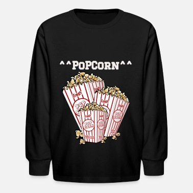 Popcorn ^^PoPCorn^^ T-Shirts For Men & Women - Kids' Longsleeve Shirt