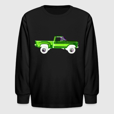 1978 1978 Ford F-150 4x4 GREEN - Kids' Long Sleeve T-Shirt