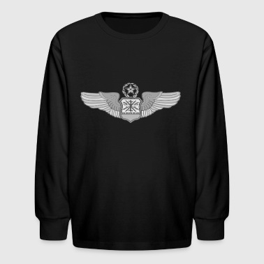 MASTER NAVIGATOR WINGS - Kids' Long Sleeve T-Shirt