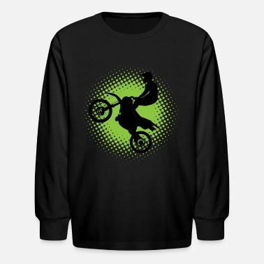 Motocross Motocross Sports Gift - Kids' Long Sleeve T-Shirt
