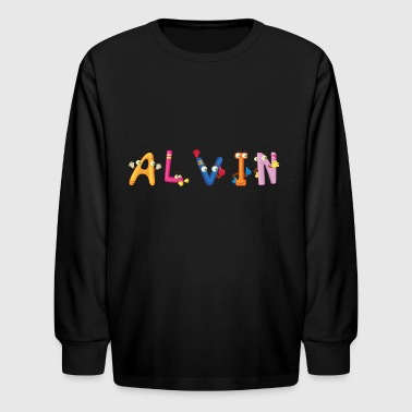 Alvin - Kids' Long Sleeve T-Shirt