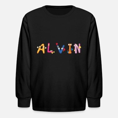 Alvin Alvin - Kids' Long Sleeve T-Shirt