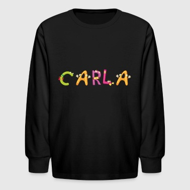 Carla - Kids' Long Sleeve T-Shirt
