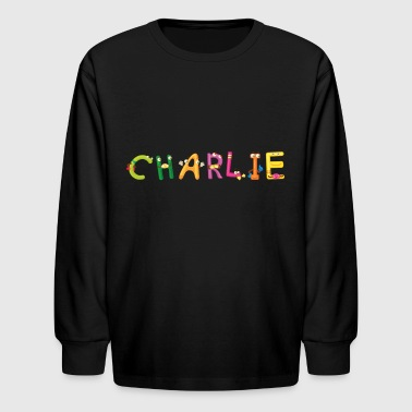 Charlie - Kids' Long Sleeve T-Shirt
