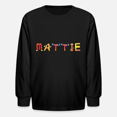 Matti Mattie - Kids' Long Sleeve T-Shirt