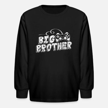 Big Brother Gaming Gift For Big Brothers - Kids' Longsleeve Shirt