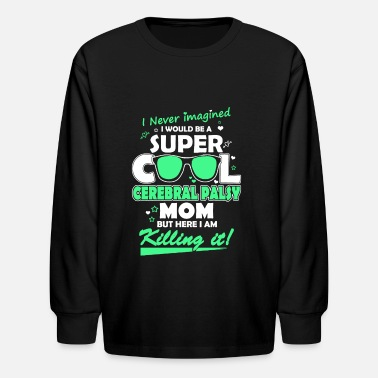 super cool mom - Kids' Longsleeve Shirt