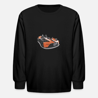 Racing Car Racing car - Kids' Longsleeve Shirt