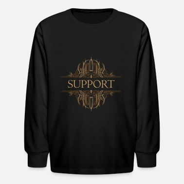 Support Support - Kids' Longsleeve Shirt