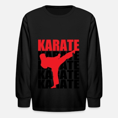 Karate Karate - Kids' Long Sleeve T-Shirt