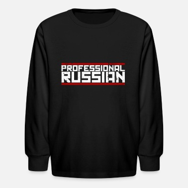 Fps Russia FPS Russia Logo MP Long Sleeve Shirts - Kids' Longsleeve Shirt