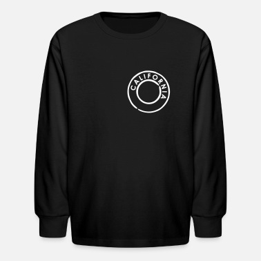 California California - Kids' Long Sleeve T-Shirt