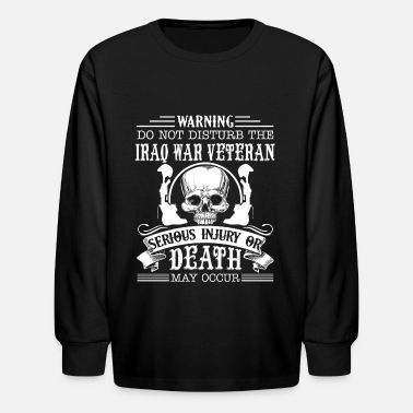 Iraq War Iraq War Veteran Shirt - Kids' Longsleeve Shirt