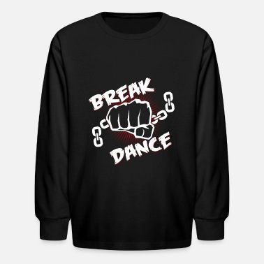 Bboy Breakdance Breakdancer Breaker Breakdance Bboy - Kids' Longsleeve Shirt