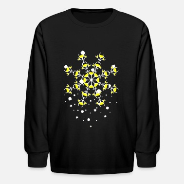 White Wine WHITE WINE SNOWFLAKE beautiful wine - Kids' Longsleeve Shirt