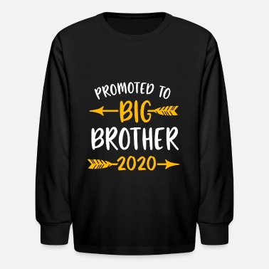 2020 Promoted to Big Brother 2020 - Kids' Longsleeve Shirt