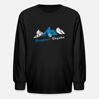 Free State Of Bavaria Free State of Bavaria, Mountains, Alps - Kids' Longsleeve Shirt