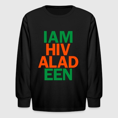 hivaladeen - Kids' Long Sleeve T-Shirt