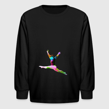 Gymnast - Kids' Long Sleeve T-Shirt