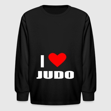 JUDO - Kids' Long Sleeve T-Shirt