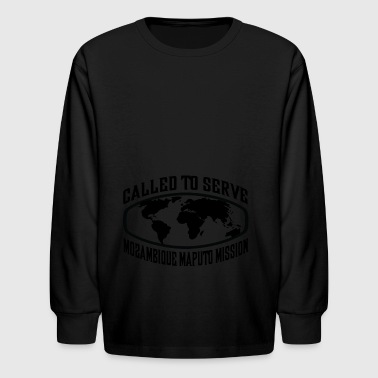 Maputo Mozambique Maputo Mission - LDS Mission CTSW - Kids' Long Sleeve T-Shirt