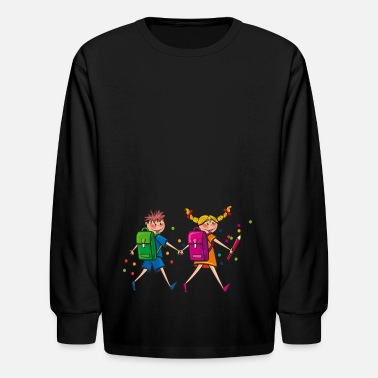 Start Of School School start - Kids' Long Sleeve T-Shirt