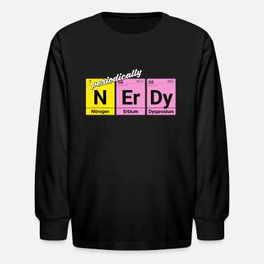Chemical Elements Nerdy periodically chemical elements - Kids' Longsleeve Shirt