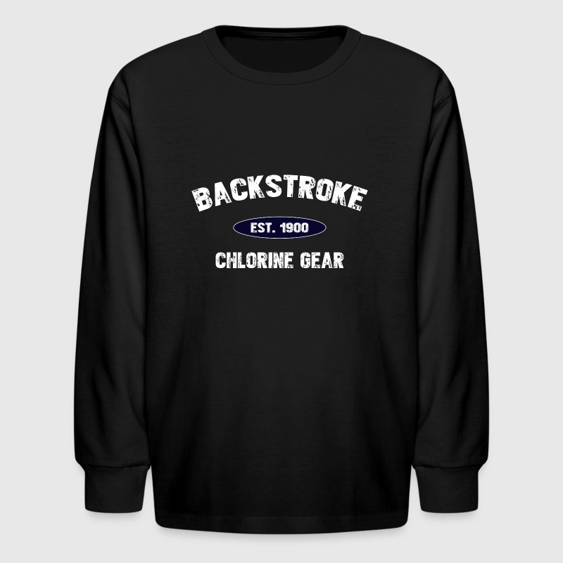 Backstroke est. 1900 - Kids' Long Sleeve T-Shirt
