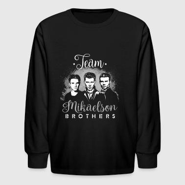 Mikaelson Brothers. - Kids' Long Sleeve T-Shirt